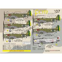 Decais P-47 Doze Versões Fab Segunda Guerra Jambock Fcm 1/32