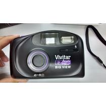 Câmera Fotográfica Antiga Sem Filme Vivitar 35mm Nova Capa