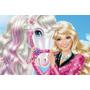 Painel Decorativo Festa Infantil Barbie (mod1)
