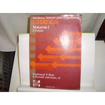 Livro - Mecânica Vetorial Para Engenheiros - Estática - V.1