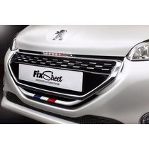 Adesivo Para Grade França Peugeot 208 E 208 Gti
