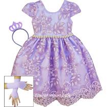 0ed0fe3444 Busca vestido da princesa sofia com os melhores preços do Brasil ...