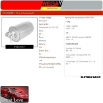 Filtro De Combustível - Transporter 2.4 (t4, 70) 95 Em Diant