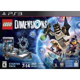 Novo Lacrado Starter Pack Lego Dimensions Para Playstation 3