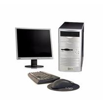 Pc Completo Core 2 Duo 2 Gb 80gb Monitor 17 Mouse + Teclado