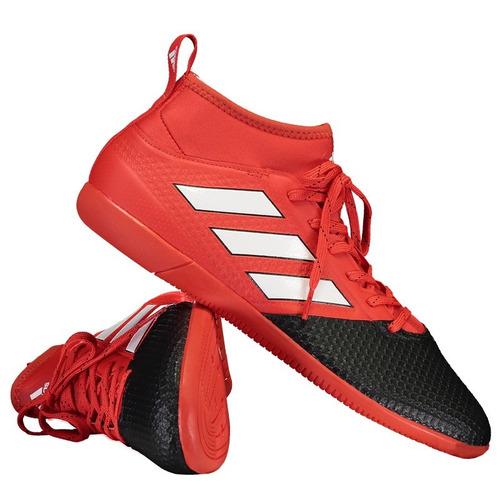 Chuteira adidas Ace 17.3 Primemesh In Futsal Vermelha - R  319 en ... d02f5ec456389
