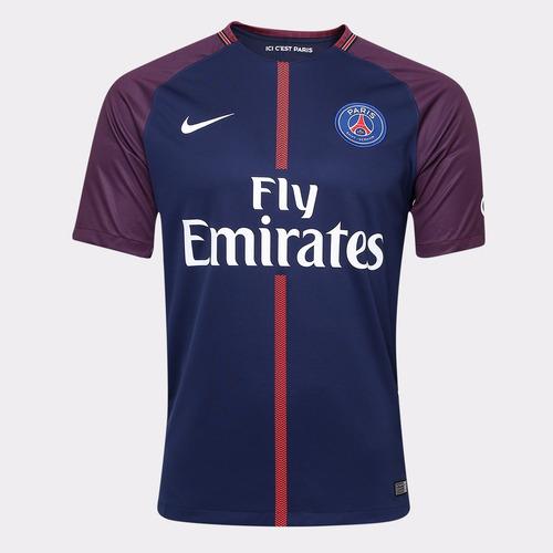 4730cb02144c1 Camisa Paris Saint Germain Nike 2017 2018 Pronta Entrega. R  250
