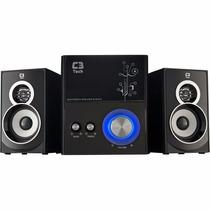 Home Theater C3 Tech Caixa De Som Amplificada 2.1 Sp-232u Bk