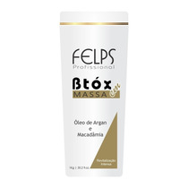 Felps Botox Capilar Em Massa Óleo De Argan E Macadâmia - 1kg