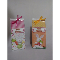30 Caixas Leite Personalizada Para Páscoa 15x7x7 (milk)