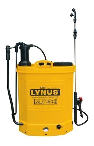 Pulverizador Costal À Bateria 18 Litros Pl 18b Lynus