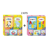 Kit 2 Livros - 5 Em 1 Facil De Aprender Animais / Palavras