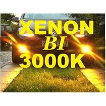 Lampada 3000k H4 Bi Amarelo Ouro Reposição