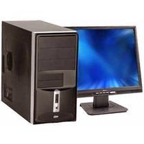 Cpu Semi-nova Core 2 Duo Com Monitor15 Lg* Garantia 12 Meses