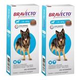 Kit 2 Bravecto Para Cães De 20 A 40 Kg