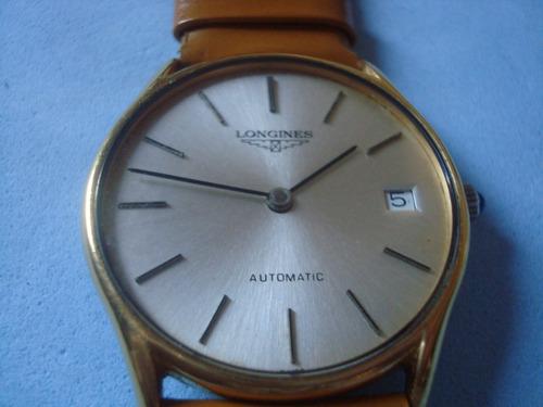 fe1ea5910cb Raro Relógio Pulso Longines - Suisso - Antigo - Automático - - R ...