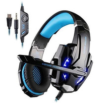 Fone Gamer Kotion Each G9000 Headset Usb P2 3.5mm Ps4 E Pc