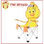 Cadeira Dobrável Infantil Criança Patinha Capri
