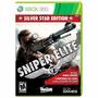 Sniper Elite V2 Silver Edition Xbox 360 Mídia Física Lacrado