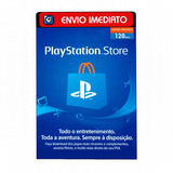 Cartão Playstation Psn Plus Br Brasil Brasileira R$120 Reais
