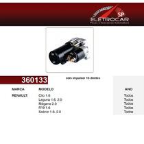 Motor De Partida Renault Clio, Laguna, Megane, R19, Scenic 1