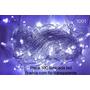 produto Pisca 100 Lâmpadas Led 8 Funções Branco C/ Fio Transparente