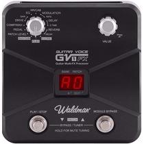 Pedaleira Para Guitarra Waldman Gv1-fx