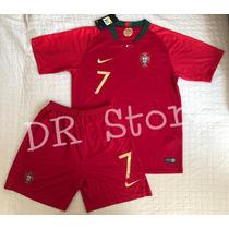 8f670fcc6 Busca Uniforme Portugal infantil com os melhores preços do Brasil ...