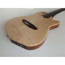 Violão Patrick Luthier 6c Estilo Godin, De Maple.