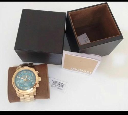 036c03fce69 Relógio Michael Kors Mk8315 Fundo Turquesa