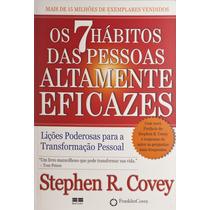 Livro Os 7 (sete) Hábitos Das Pessoas Altamente Eficazes