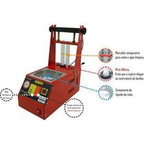 Máquina De Limpeza E Teste De Bicos Injetores Automático Por