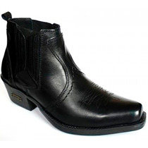 Bota Masculina Cano Curto Country Sertanejo Universitário