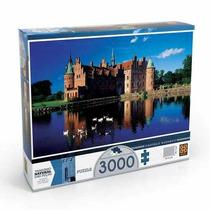 Puzzle 3000 Peças Castelo De Egeskov