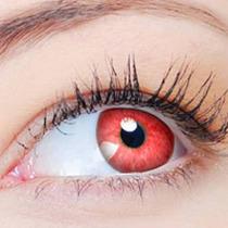 Lente Colorida Clear Colors Fashion Cor Vermelha