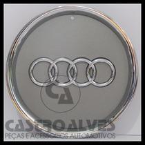 Calota Tampa Centro Roda Original Audi A3 Aro15 Cromada 1 Pç