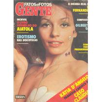 Fatos E Fotos 1979 - Katia Angelo. Chacrinha. Chacretes. Gil