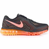 Tênis Nike Air Max 2014 Preto/laranja Original Frete Grátis