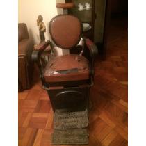 Cadeira De Barbeiro Antiga Campanile