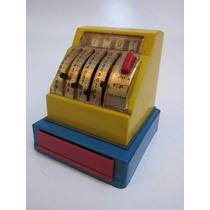 Brinquedo Antigo - Máquina Registradora De Plástico