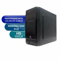 Desktop Pc Ware 1151/ Celeron G3930 / Ddr4 4gb / 500gb X10