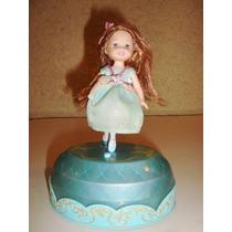 Boneca Barbie Katelin Irmãs Trigêmeas 12 Princesas Bailarin