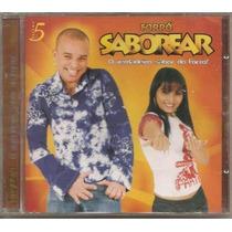 Cd Forró Saborear - Vol. 5 - O + Barato - Novo