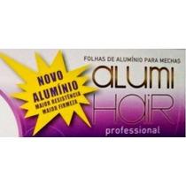 2 Cxs Folhas Papel Aluminio P Mechas Alumihair 1000 + Brind