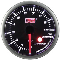 Auto Gauge Pressão Oleo C/ Sensor Eletrico 52mm Smoke 270º S