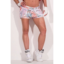 Short Labellamafia Fitness Sweats Estampado - Msh90144