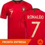 Camisa Seleção De Portugal Nº7 Ronaldo Oficial - Promoção