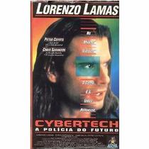 Vhs+ Dvd Digitalizado Cybertech A Polícia Do Futuro Ação Leg