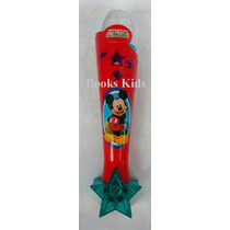 Microfone Infantil Mickey Mouse Musical