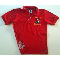 Camisa Polo Masculina - Tema São Jorge 2 Cores Disponíveis